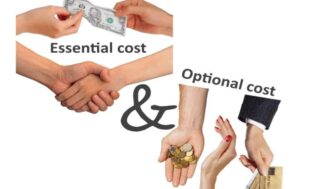 Essential and optional costs