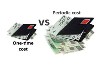 One-time and periodic costs